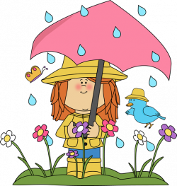 Kite clipart spring shower