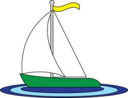 Sailing Boat clipart float