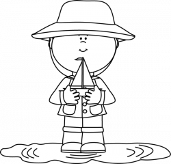Puddle clipart toy boat