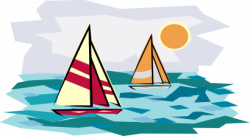 Sailboat clipart boating