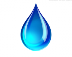 Liquid clipart water drop