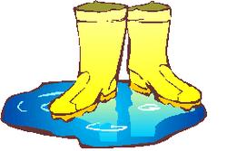 Boots clipart rainy
