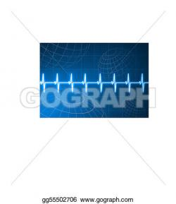 Pulse clipart background