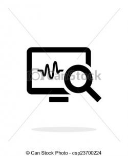 Pulse clipart icon
