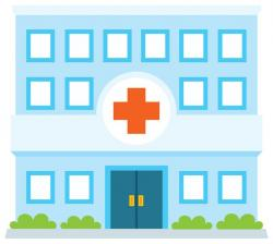 Hospital clipart illness