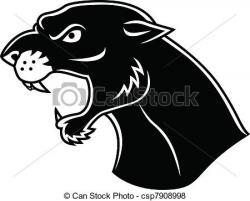 Puma clipart head