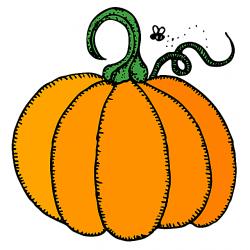 Gourd clipart happy pumpkin