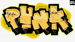 Punk clipart graffiti