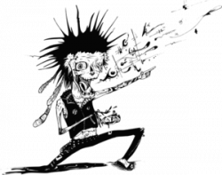 Punk clipart rocker