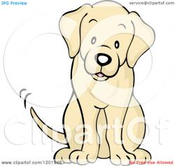 Tail clipart dog sitting