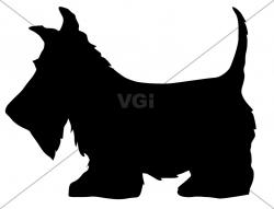 Scottish Terrier  clipart Scottish Terrier Outline
