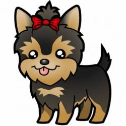 Yorkies clipart poodle