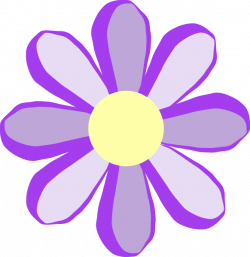 Peony clipart violet
