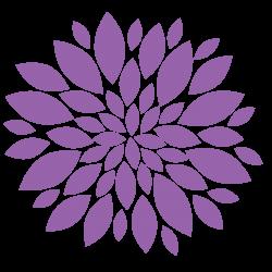Dahlia clipart flower bouquet