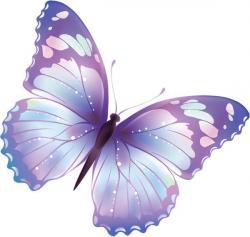 Papillon clipart purple butterfly