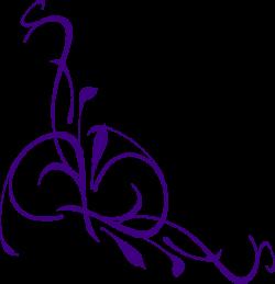 Swirl clipart lilac