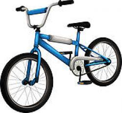 Pushbike clipart