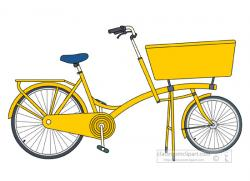 Pushbike clipart bike delivery