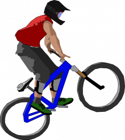BMX clipart motorbike