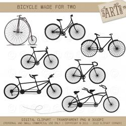 Pushbike clipart made