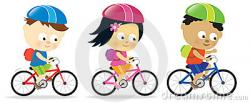 Ride clipart kid cycle