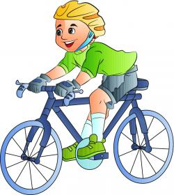 Bicycle clipart rode