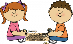 Child clipart puzzled