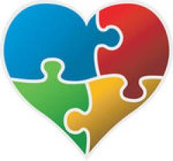 Puzzle clipart autism heart