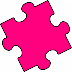 Puzzle clipart colored