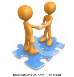 Puzzle clipart cooperation