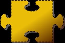 Puzzle clipart cut