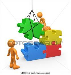 Puzzle clipart foundation