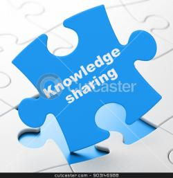 Puzzle clipart knowledge sharing