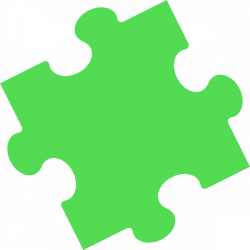 Puzzle clipart leaf