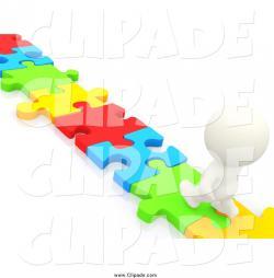 Puzzle clipart path