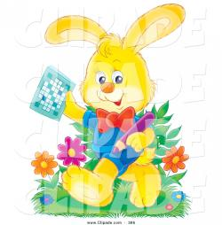 Puzzle clipart rabbit
