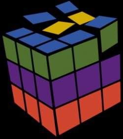 Puzzle clipart rubik's cube
