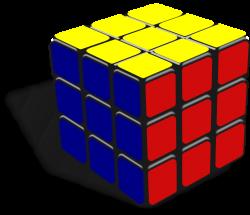 Puzzle clipart rubix cube