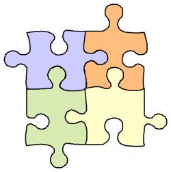 Puzzle clipart shape