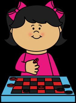 Checkerboard clipart game