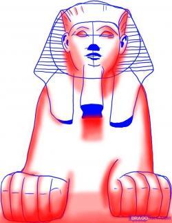 Sphynx Cat clipart egyptian sphinx head