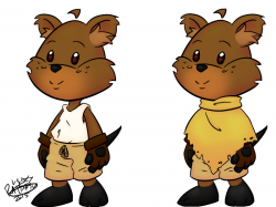 Quokka clipart cartoon