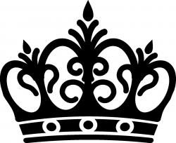 Queen clipart black crown