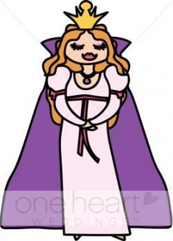Queen clipart cape