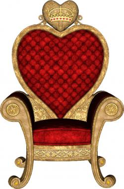 Queen clipart chair