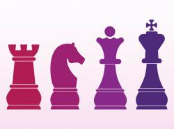 Chess clipart colorful