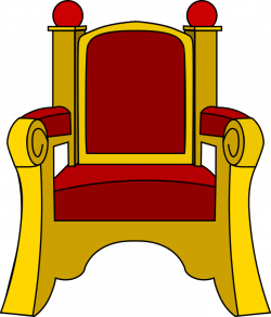 Throne clipart simple