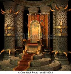 Throne clipart throne room