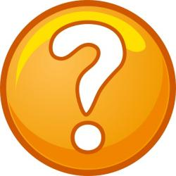 Office clipart question mark
