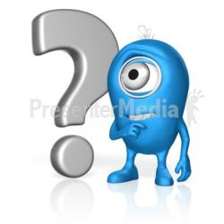 Question Mark clipart concentration